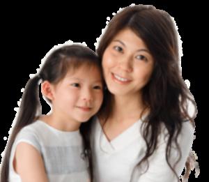 Woman Good Health - Mom and Child